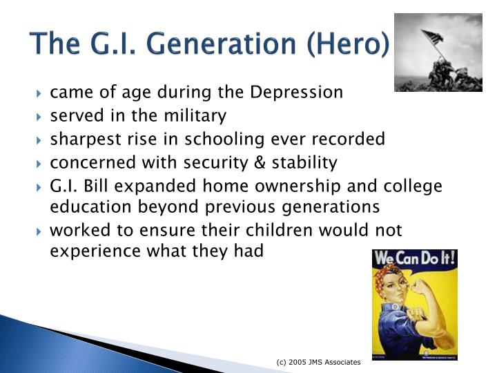 The G.I. Generation (Hero)