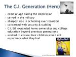 the g i generation hero