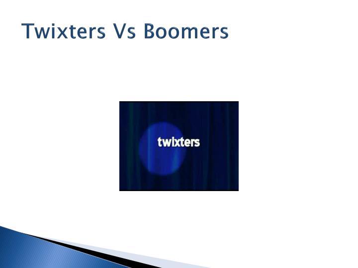 Twixters Vs Boomers