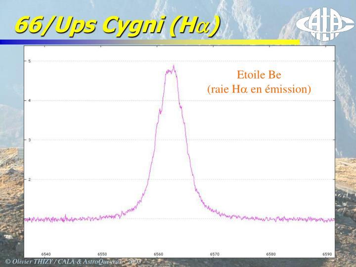 66/Ups Cygni (H