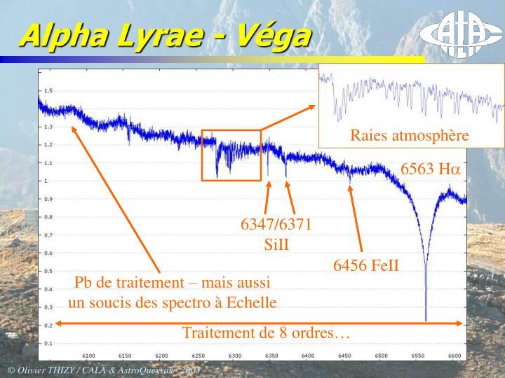 Alpha Lyrae - Véga