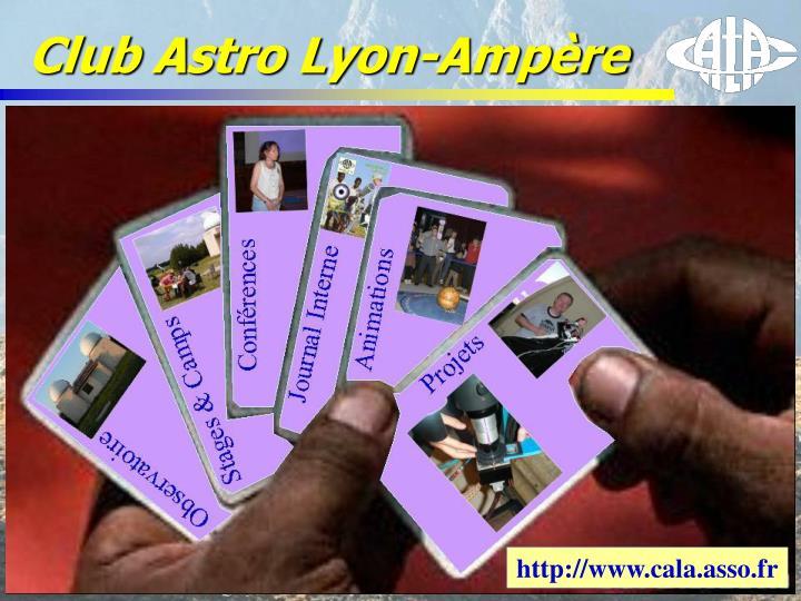 Club Astro Lyon-Ampère