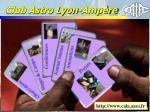 club astro lyon amp re