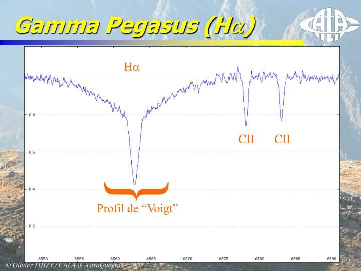Gamma Pegasus (H