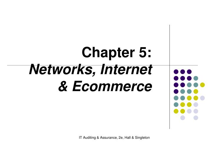 Chapter 5 networks internet ecommerce