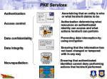 pke services