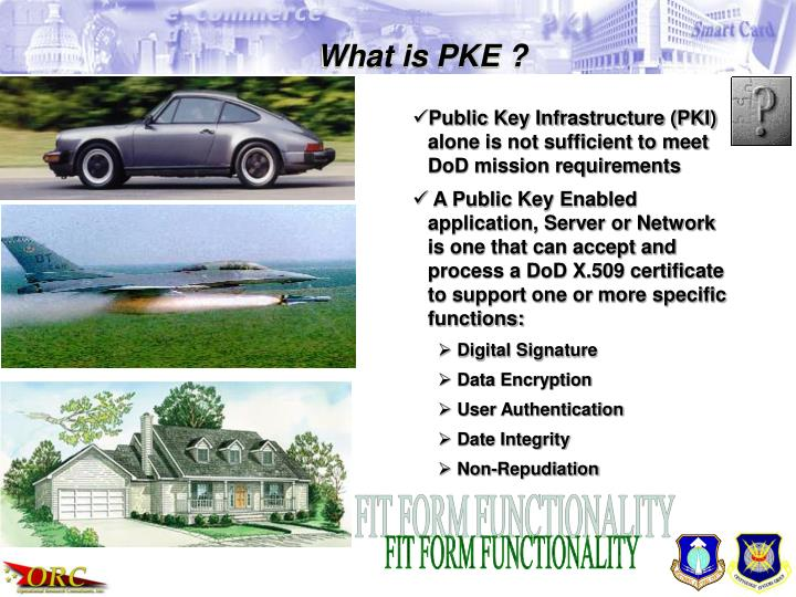 What is PKE ?