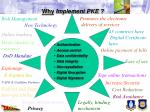 why implement pke