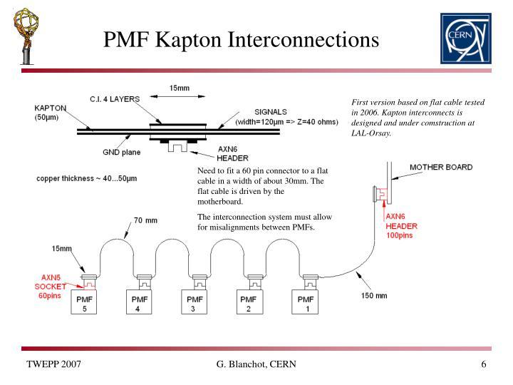 PMF Kapton Interconnections