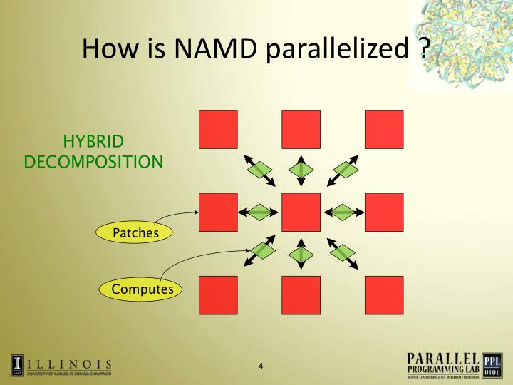 How is NAMD parallelized ?