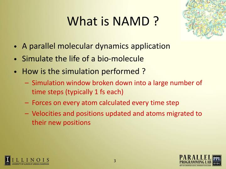 What is NAMD ?