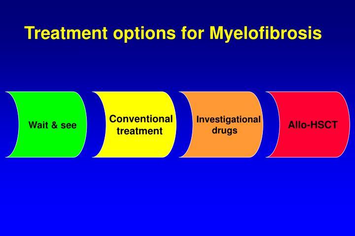 Treatment options for Myelofibrosis