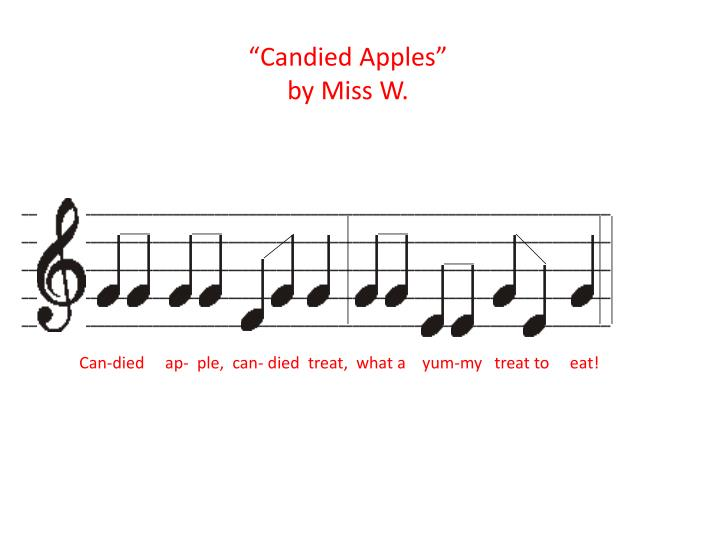 """""""Candied Apples"""""""