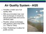 air quality system aqs