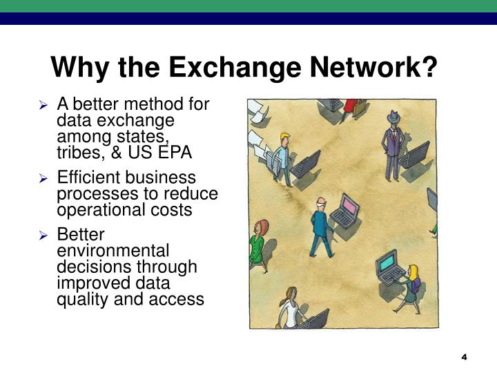 Why the Exchange Network?