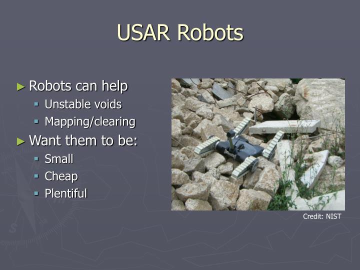 USAR Robots