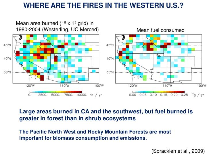 WHERE ARE THE FIRES IN THE WESTERN U.S.?