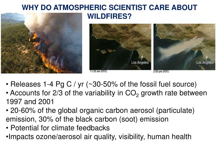 WHY DO ATMOSPHERIC SCIENTIST CARE ABOUT WILDFIRES?