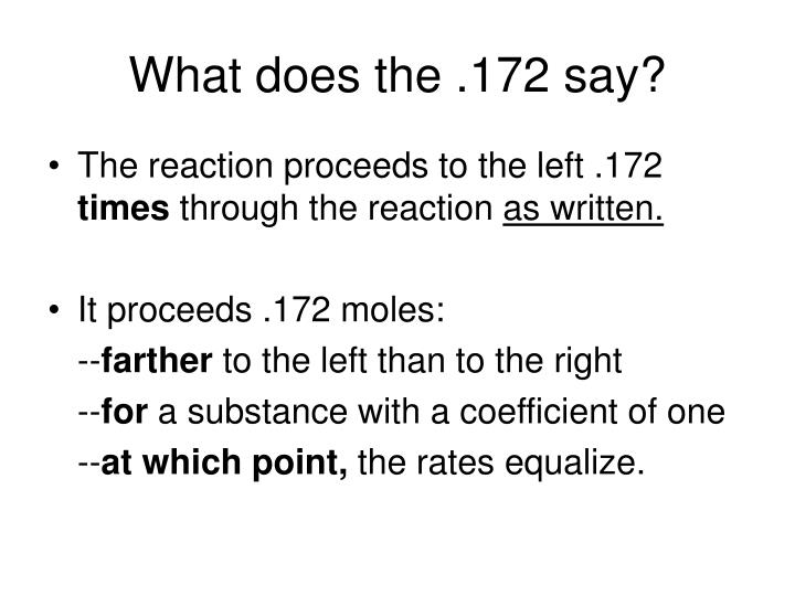 What does the .172 say?