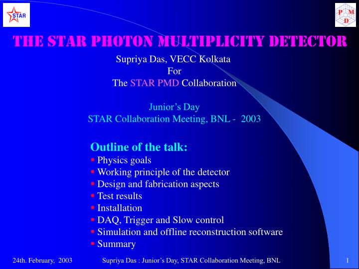 The STAR Photon Multiplicity Detector