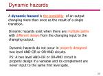 dynamic h azards