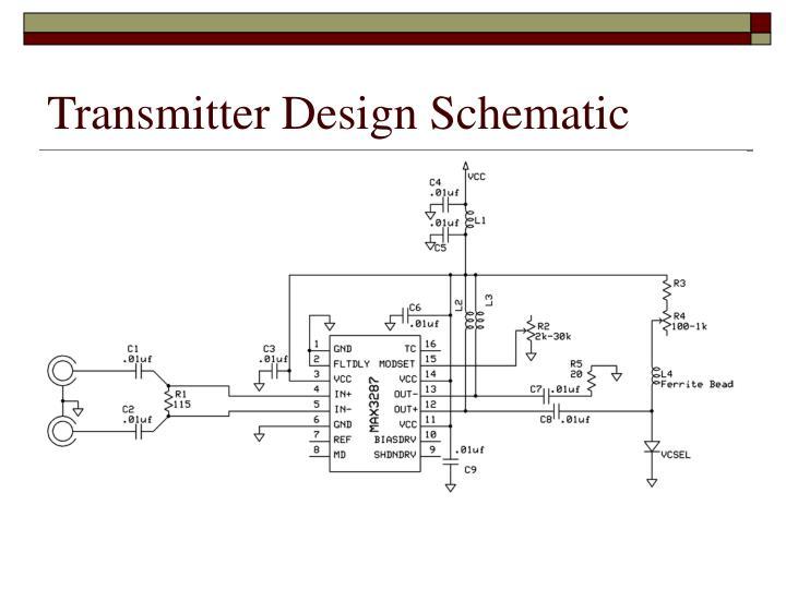 Transmitter Design Schematic