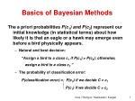 basics of bayesian methods2