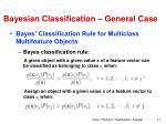 bayesian classification general case2