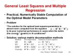 general least squares and multiple regression2