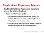 simple linear regression analysis14