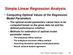 simple linear regression analysis8