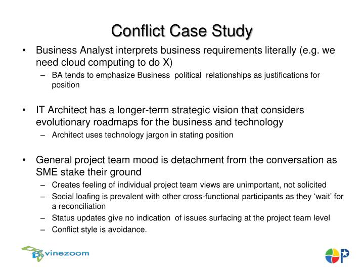 Conflict Case Study