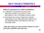 key characteristics1