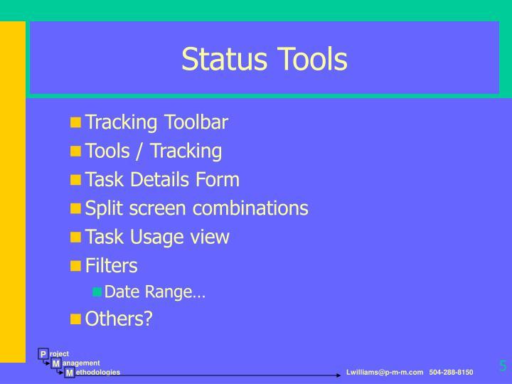 Status Tools