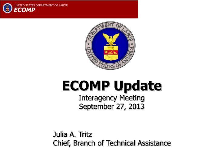 ECOMP Update
