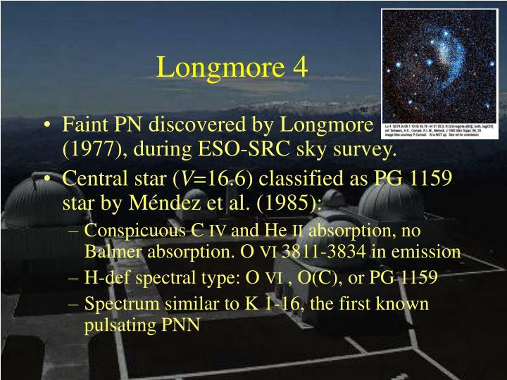 Longmore 4