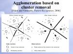 agglomeration based on cluster removal fr nti and virmajoki pattern recognition 2006