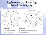 agglomerative clustering based on merging