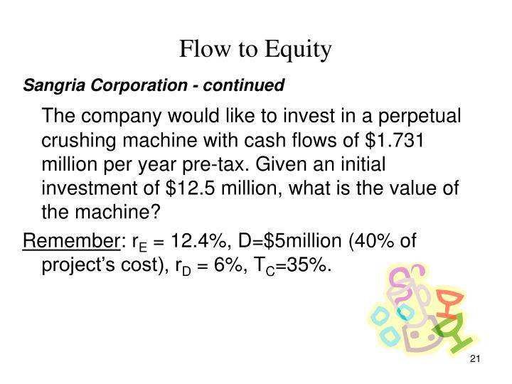 Flow to Equity