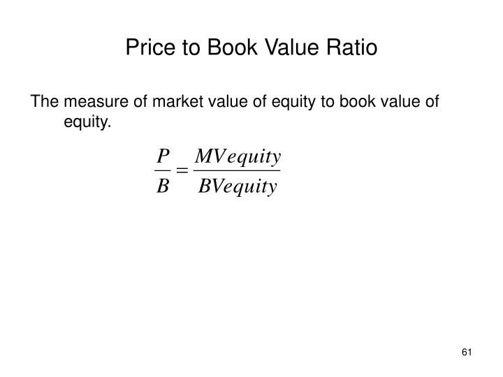 Price to Book Value Ratio
