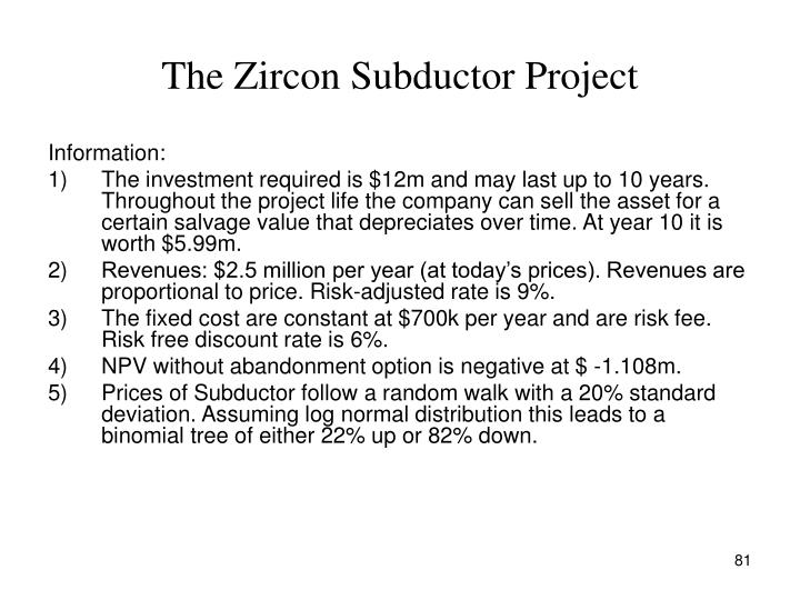 The Zircon Subductor Project