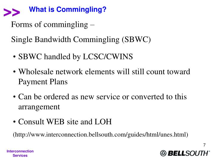 What is Commingling?