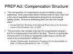 prep act compensation structure1