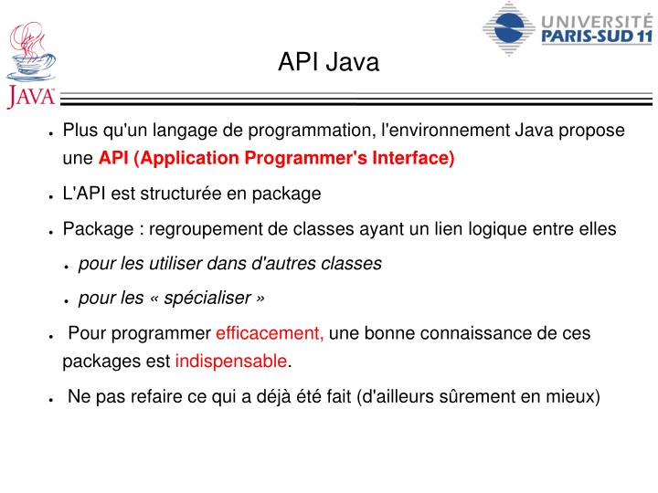 API Java
