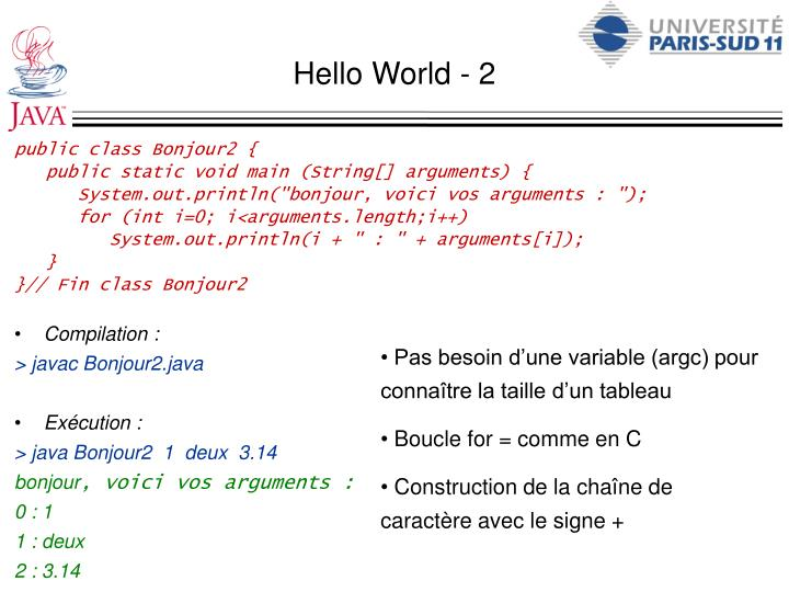 Hello World - 2