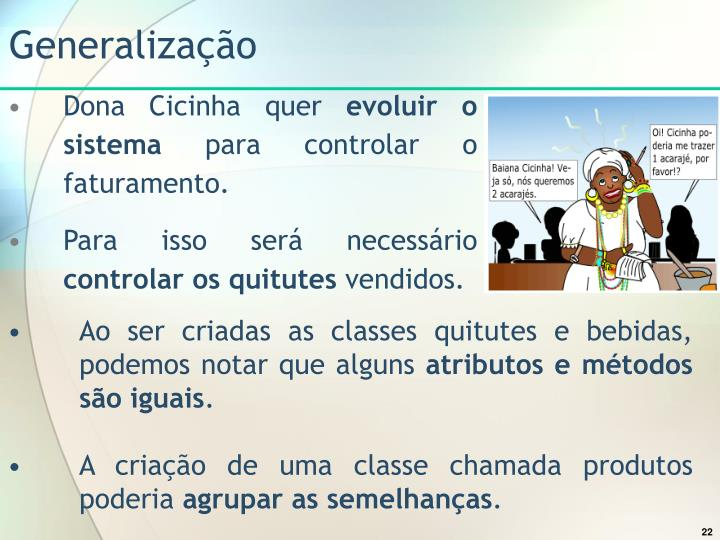 Generalização