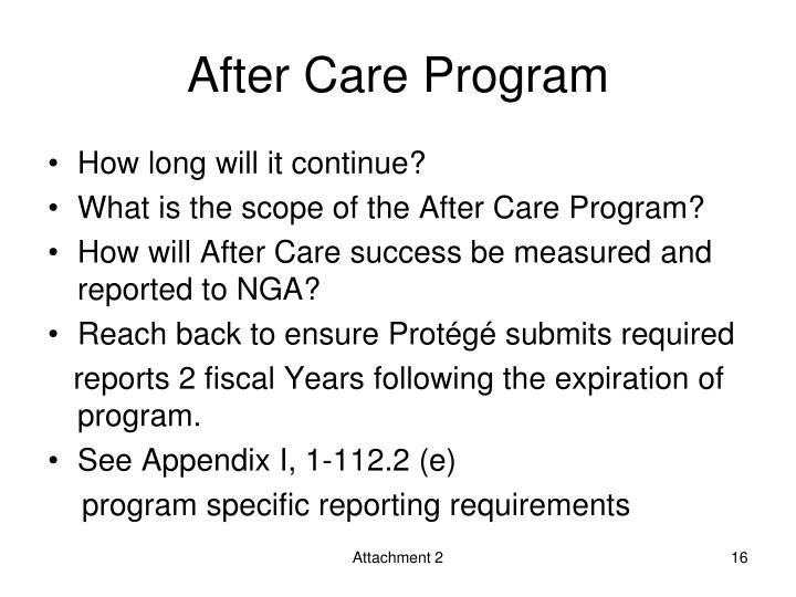 After Care Program