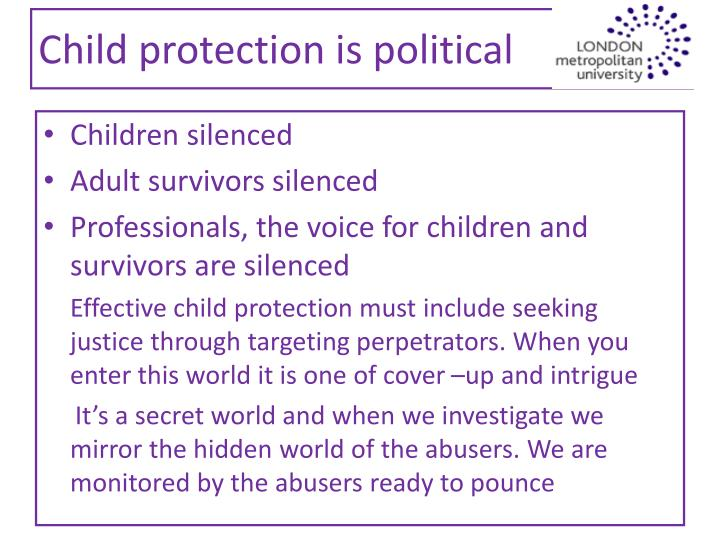 Child protection is political