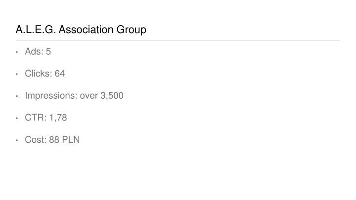 A.L.E.G. Association Group