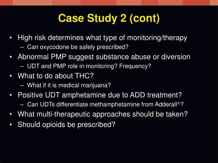 Case Study 2 (cont)